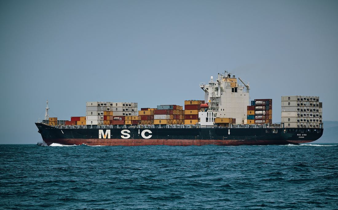 Container ship. We take a look at maritime statistics